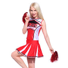 cheerleader costumes for halloween glee style high cheerleader cheerleading costume