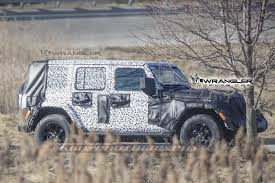 jeep camo 2018 wrangler drops camo shows backup camera roofline grab