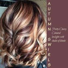 ruby and gold highlights hair tips hair care pinterest