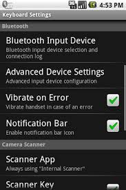 bluetooth settings android wireless barcode scanner for android user manual