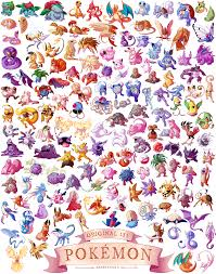generation i u0027 pokemon print cats u0026 clouds online store powered
