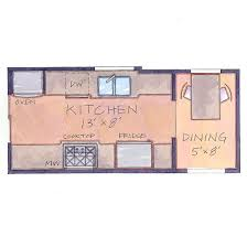 Small Kitchen Floor Plans Galley Kitchen Floor Plans Delightful For Kitchen Designs