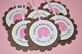 pink and brown baby shower baby shower banner it s a girl elephant theme pink and