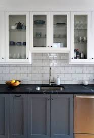 grey kitchen cabinets and black countertops gray cabinets black countertops 17 decoratoo