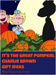movie treasures by brenda it u0027s the great pumpkin charlie brown