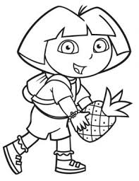 dora boots coloring pages freefree coloring pages kids