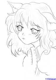 cute anime drawings drawing sketch library