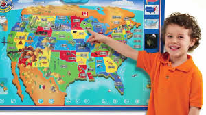 Magnetic Map Of Usa by Zanzoon U0027s Interactive Talking Usa Map Youtube