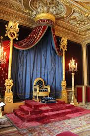 chambre napoleon 3 throne of napoleon fontainebleau editorial image image of