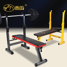 Bench Press Rack Products Rack Weightlifting Bed Barbell Barbell Bench Press