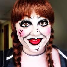 annabelle halloween makeup tutorial annabelle doll halloween
