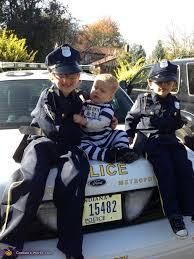 Police Halloween Costume Kids Cops Robber Costume Halloween Costume Contest Costume