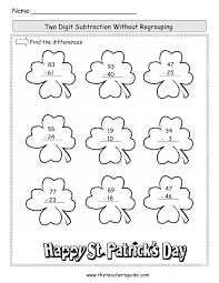 st patrick u0027s day printouts from the teacher u0027s guide