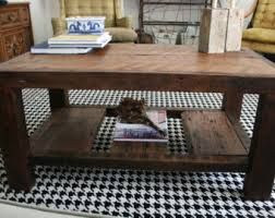 The Coffee Table by Rustic Coffee Table Etsy