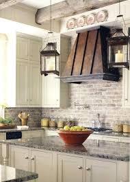 Kitchen Backsplash Brick Backsplash Brick Tile Kitchen Herringbone Kitchen With Faux Brick