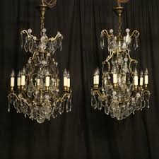 French Chandeliers Uk Antique Chandelier Pairs O U0027keeffe Antiques