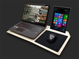 Lap Desk With Mouse Pad Deal Save 28 On Hover X The Ultimate Gamer U0027s Lapdesk Technabob