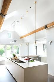 Vaulted Kitchen Ceiling Lighting Pendant Lighting For Vaulted Ceilings Kitchen Square Track