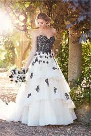 black and white wedding dresses black and white wedding dresses bridal gowns hitched co uk