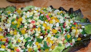 cold salads for thanksgiving harvest chopped salad pamela salzman u0026 recipes