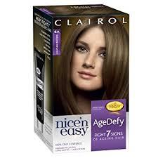 light ash brown hair color clairol age defy permanent hair dye 6a light ash brown amazon co uk