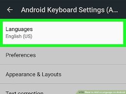 add language to android how to add a language on android 6 steps with pictures