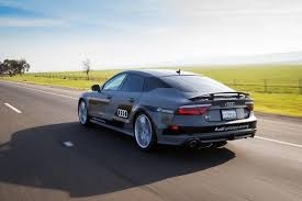 audi a7 self driving audi sends a self driving a7 from silicon valley to ces 2015 in
