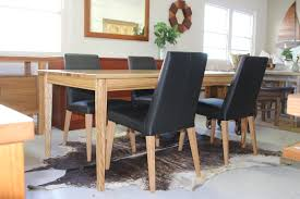 black leather low back dining chair the kirra black leather low back dining chair the kirra