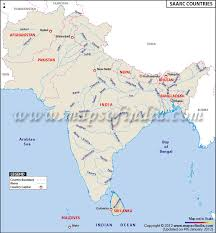 map of countries of asia saarc country map saarc countries saarc nations