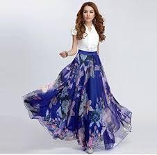 flowy maxi skirts ashir aley beautiful floral flowy s maxi skirt white