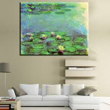 Wall Art For Bedroom by Online Get Cheap Monet Water Lilies Aliexpress Com Alibaba Group