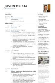 mechanical engineering resume template mechanical engineering resume templates present day exle engineer
