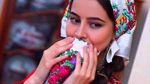 beautiful turkmen women in traditional dress youtube