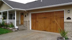 Overhead Door Hours Garageskins Give You A Wood Look Without The Cost