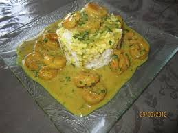 comment cuisiner les crevettes congel馥s recette crevette curry et riz blanc 750g