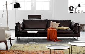 bo concept canapé canapé en cuir marron foncé indivi 2 boconcept boconcept