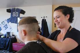 seattle barbers that do seahawk haircuts centralia barber shop offers free haircuts for seahawks fans