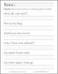 best 25 capital letters worksheet ideas on pinterest letter