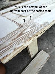 How To Make A Coffee Table by Focus Company Employee Old Door Upcycle How To Make A Wood