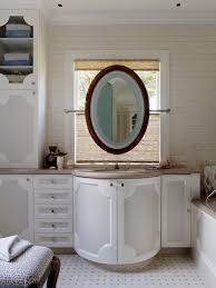 impressive oval round mirrors decorating ideas gallery in bathroom
