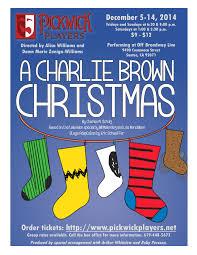 brown christmas poster a brown christmas pickwick players