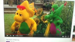 barney and the kidsongs gang intro youtube