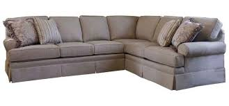 Build Your Own Sectional Sofa by Smith Brothers Build Your Own 5000 Series Sectional With Skirt