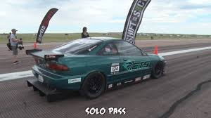 watch this acura integra hit a 200 mph world record the drive