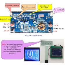 30w led the endoscope light source high current pcb led driver