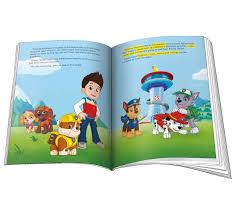 paw patrol personalised book