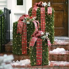 Christmas Outdoor Decorations And Lights by Best Outdoor Christmas Decorating Ideas U2013 Interior Decoration Ideas
