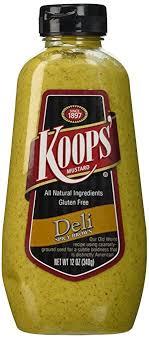 koops mustard koops mustard squeeze spicy brown 12 oz baby food