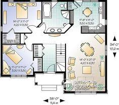 Two Bedroom Houses Plan 21213dr Economical 2 Bedroom Brick House Plan Brick House