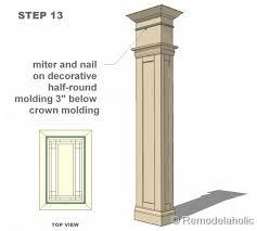 Decorative Column Wraps Free Interior Column Plans